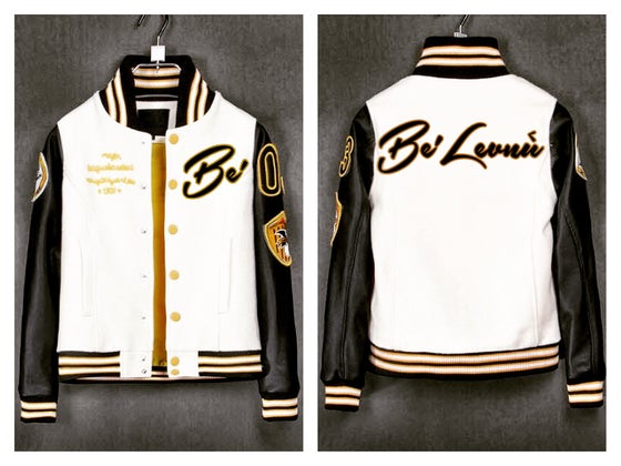 "Image of #Bélevñu ""Rookie of the Year"" varsity Jacket"
