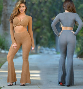 Image of FASHION CROSS TWO PIECE JUMPSUIT