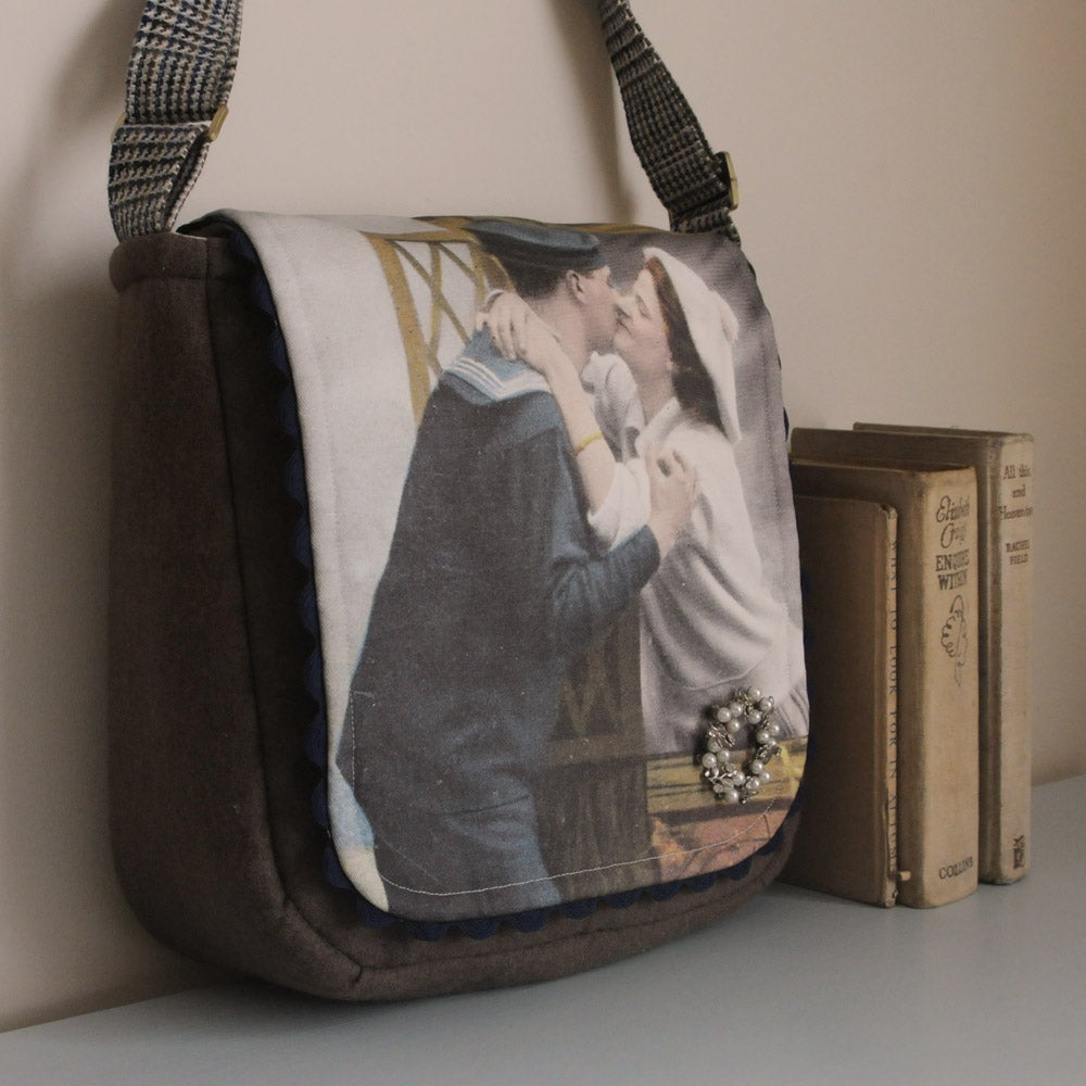 Image of Hello Sailor One Of A Kind Shoulder Bag-60% Off