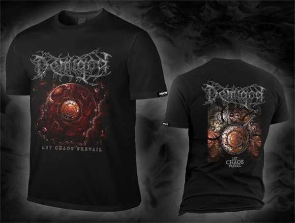Image of DEMIGOD - Let Chaos Prevail Artwork T-Shirt