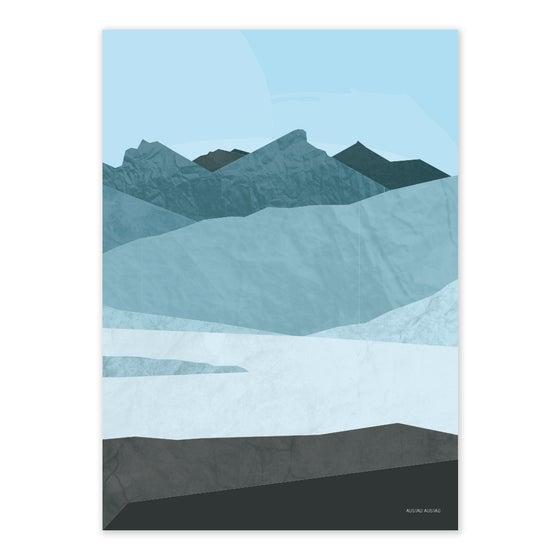 "Image of Postkort ""FJELL KVALØYA"""