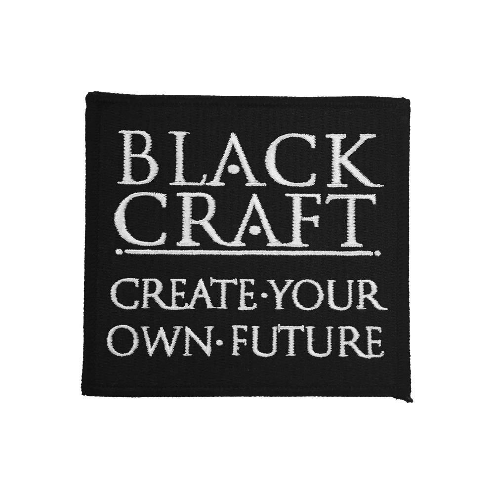 Image of Create Your Own Future - Embroidered Patch