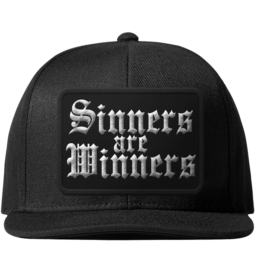 Image of Sinners Are Winners - Snapback Hat