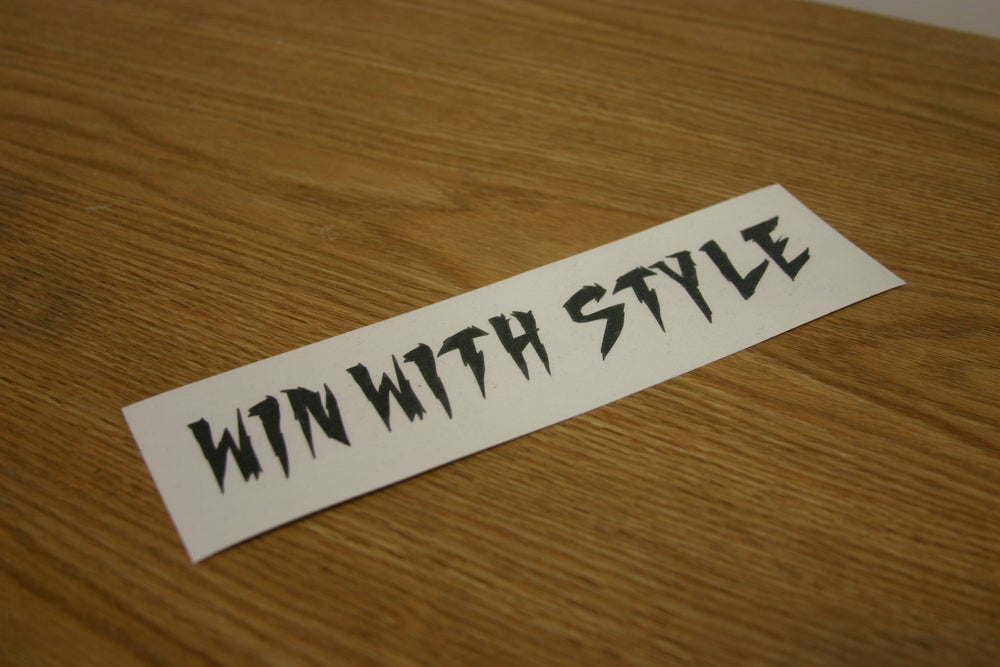 Image of Win with Style ( Black )