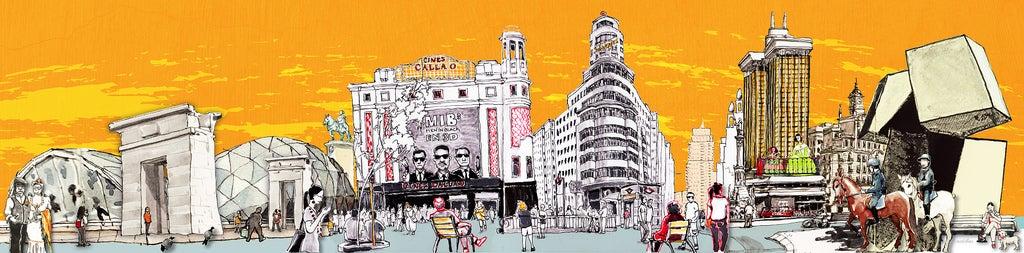 Image of Madrid Skyline