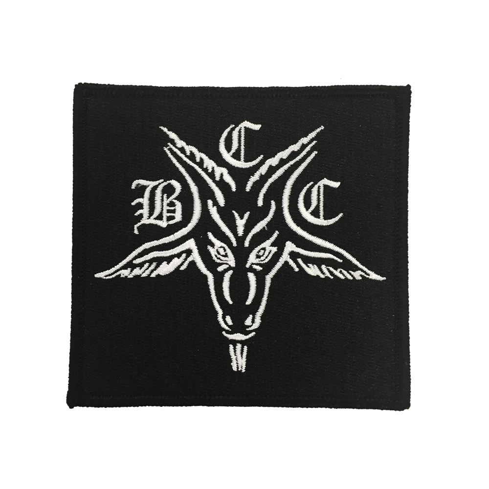 Image of BCC Goat - Embroidered Patch