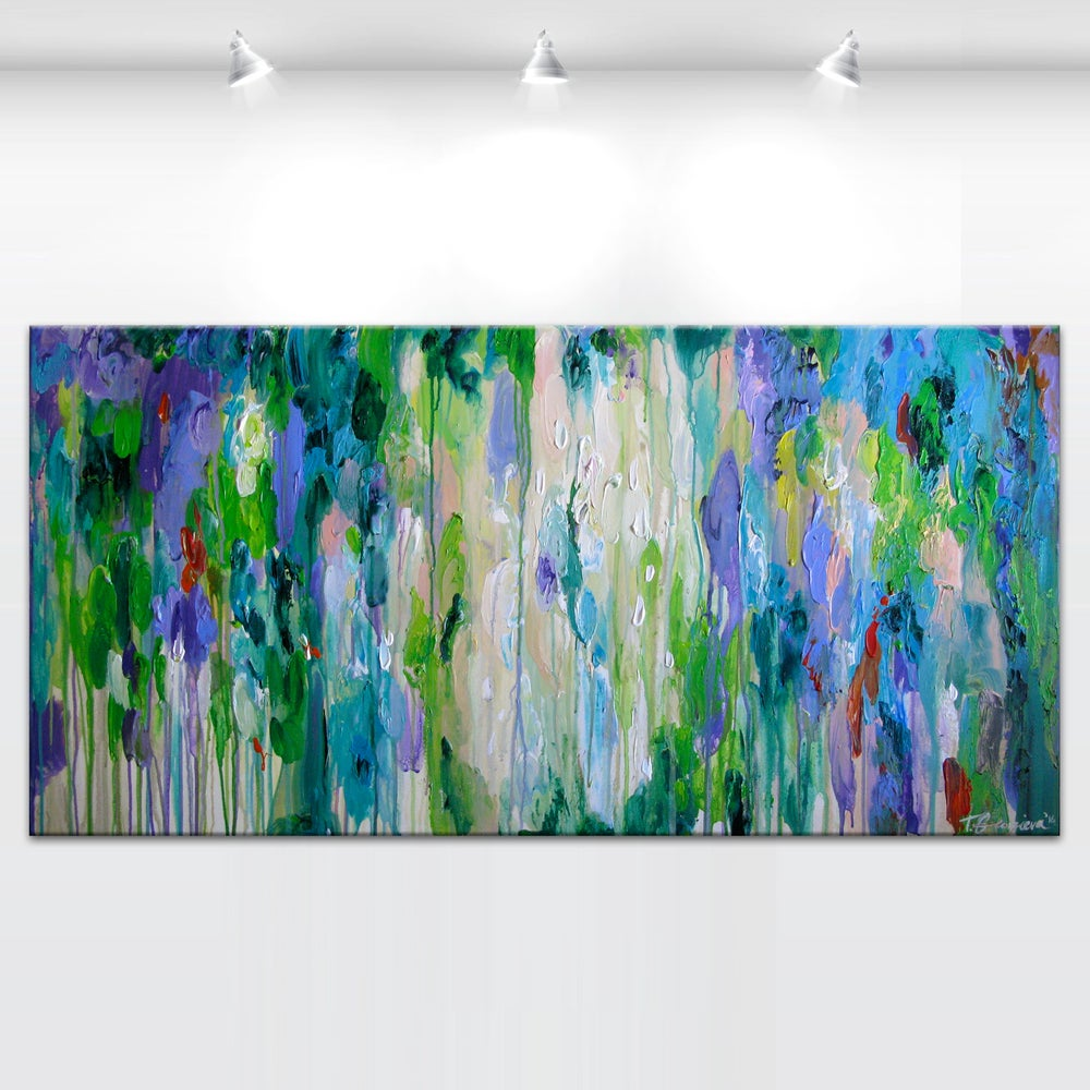 Image of 'Purpura hortum' - 60x120cm