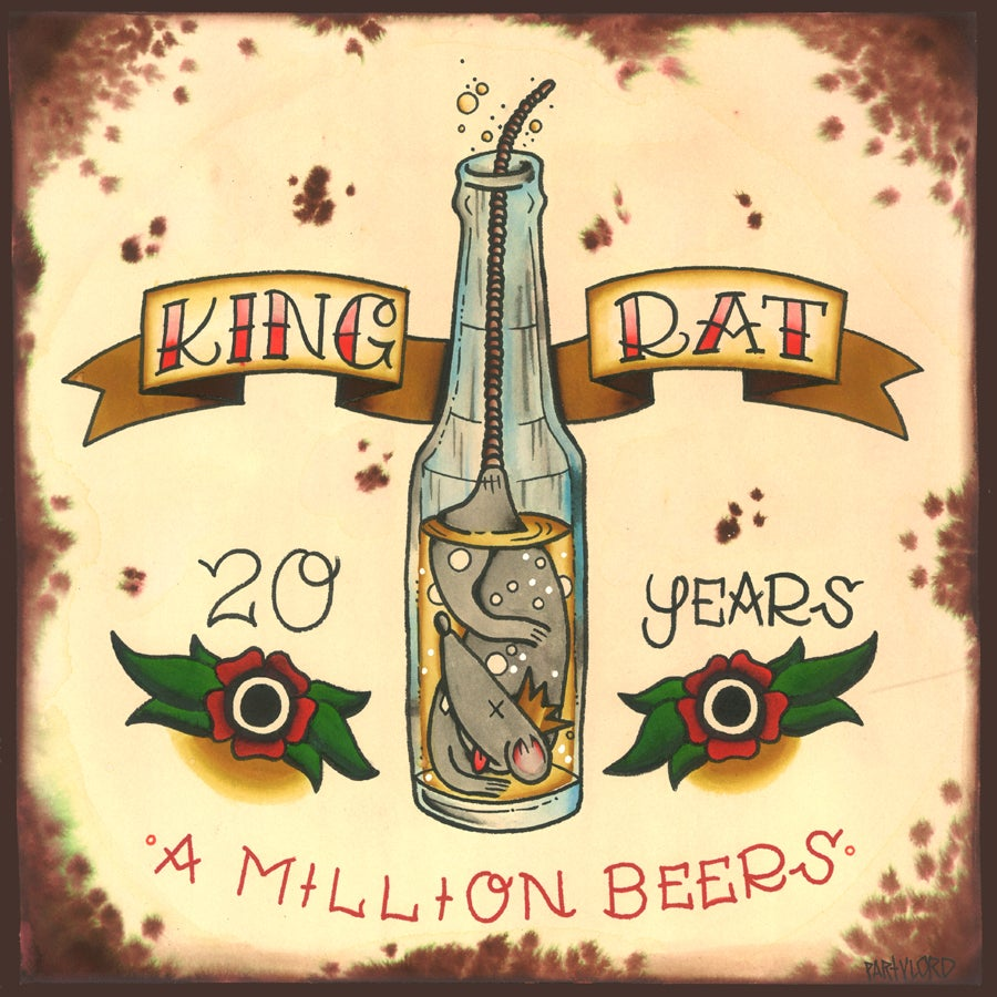 Image of 20 Years A Million Beers Double Live Vinyl