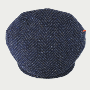 Image of VILLAIN HAT [DONEGAL TWEED NAVY]