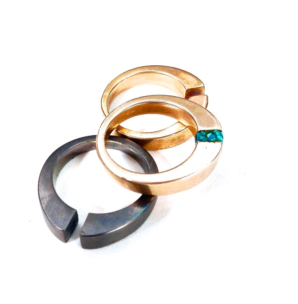 Image of Tunnel Vision Stacking Rings