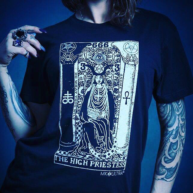 Image of THE HIGH PRIESTESS T-SHIRT