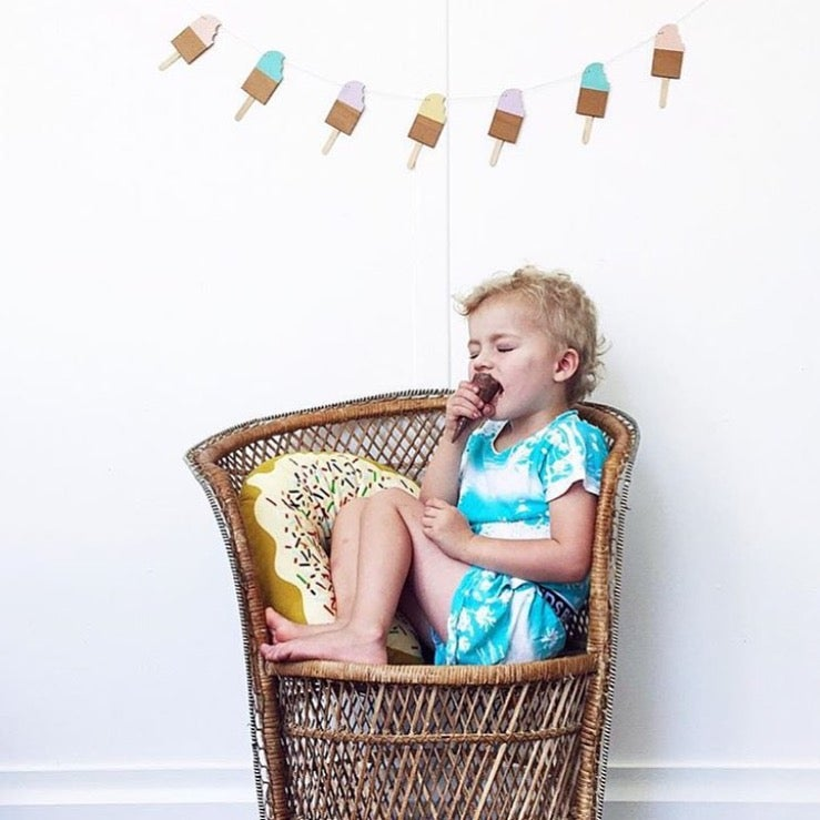 Image of POPSICLE GARLAND