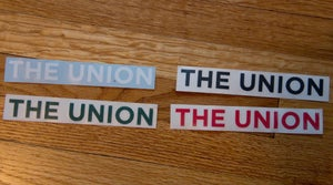Image of The Union - Die Cut Stickers