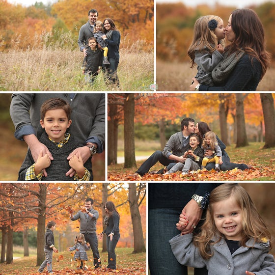 Image of Family Session with Album