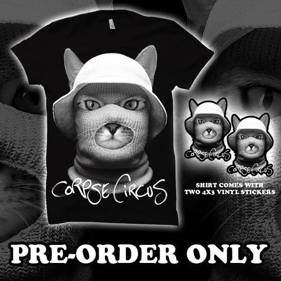 Image of Ski Mask Kitty (Shirt)