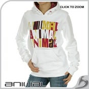 Image of Animal-Julietta Hoodie in white