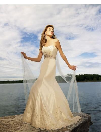 Image of Cheap A-Line Wedding Dresses Sale Online