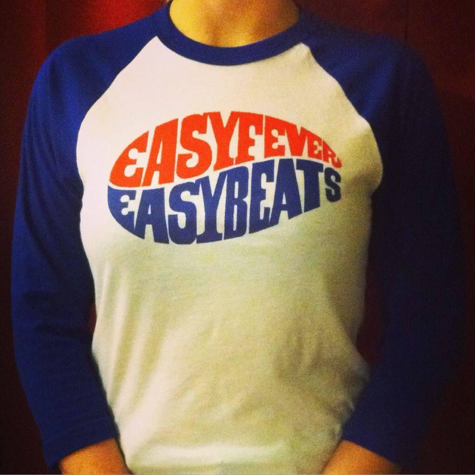 Image of Easybeats Easyfever raglan baseball shirt