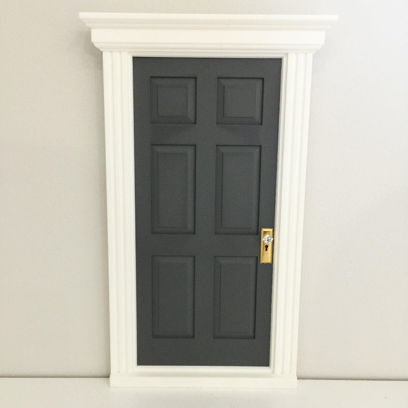 Grey Enchanted Door. & Enchanted Doors / The Enchanted Door Company