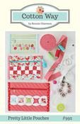 Image of Pretty Little Pouches Paper Pattern #992