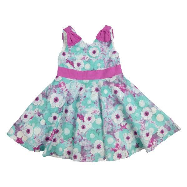 Image of Dara Twirl Dress (Teal)