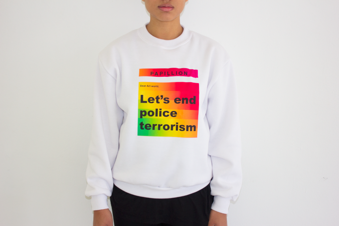 Image of Dear Art World: Let's End Police Terrorism
