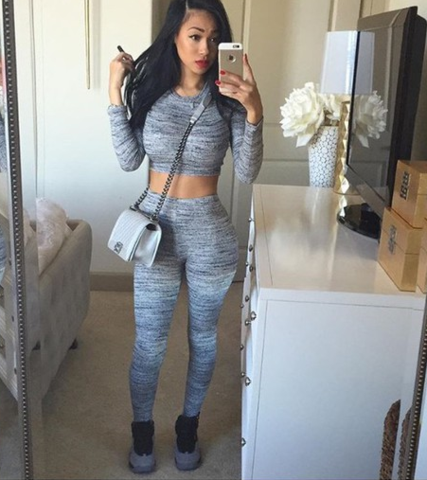 Image of HOT TWO PIECE FASHION SUIT