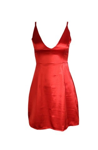 Image of CUTE STRAPS DEEP V DRESS HIGH QUALITY