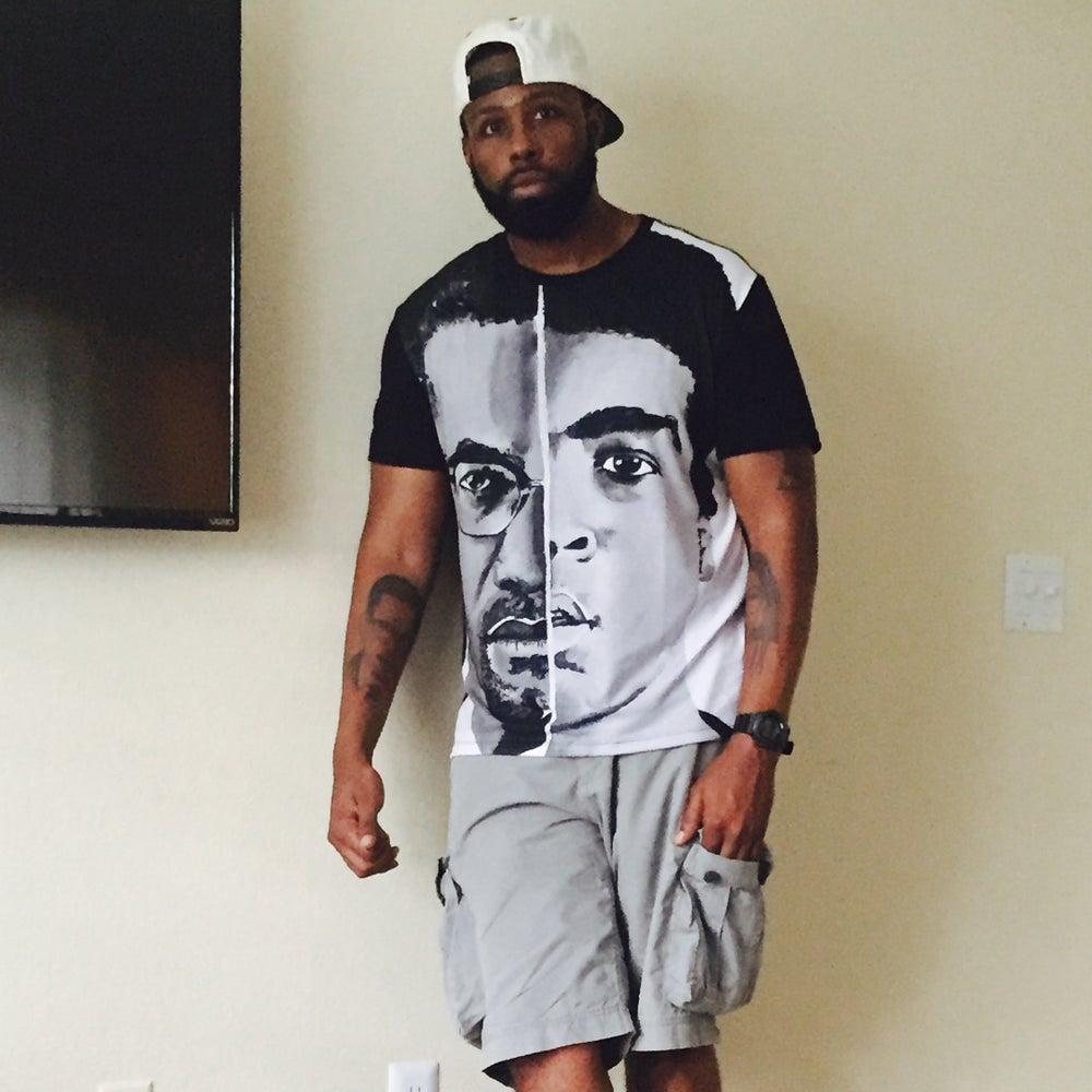 Image of Malcolm/Ali (All Over Print Tee)
