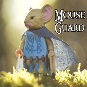 Image of The Matriarch - MOUSE GUARD Custom Minifigure - SHIPPING NOW!