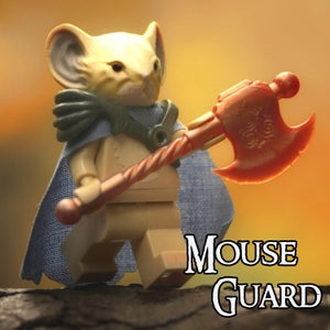 Image of Celanawe - MOUSE GUARD Custom Minifigure - SHIPPING NOW!