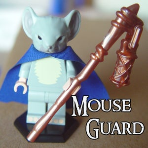 Image of Kenzie - MOUSE GUARD Custom Minifigure - SHIPPING NOW!