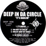 "Image of DEEP IN DA CIRCLE ""IT'S HARLEM"" EP BLACK VINYL VERSION"