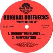 "Image of ORIGINAL RUFFNECKS ""1992 EXPLICIT EP"" BLACK VINYL VERSION"