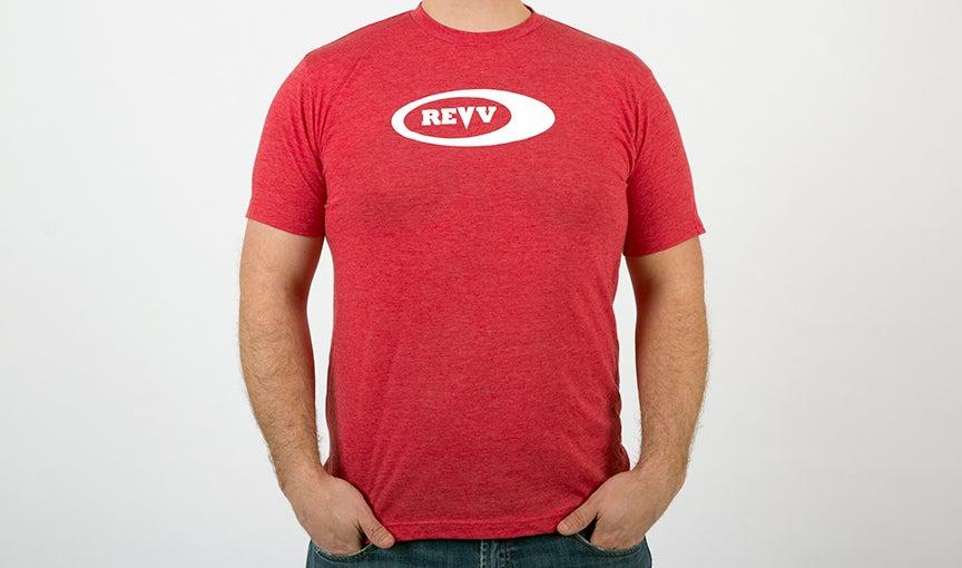 Image of Revv Red Logo T-Shirt