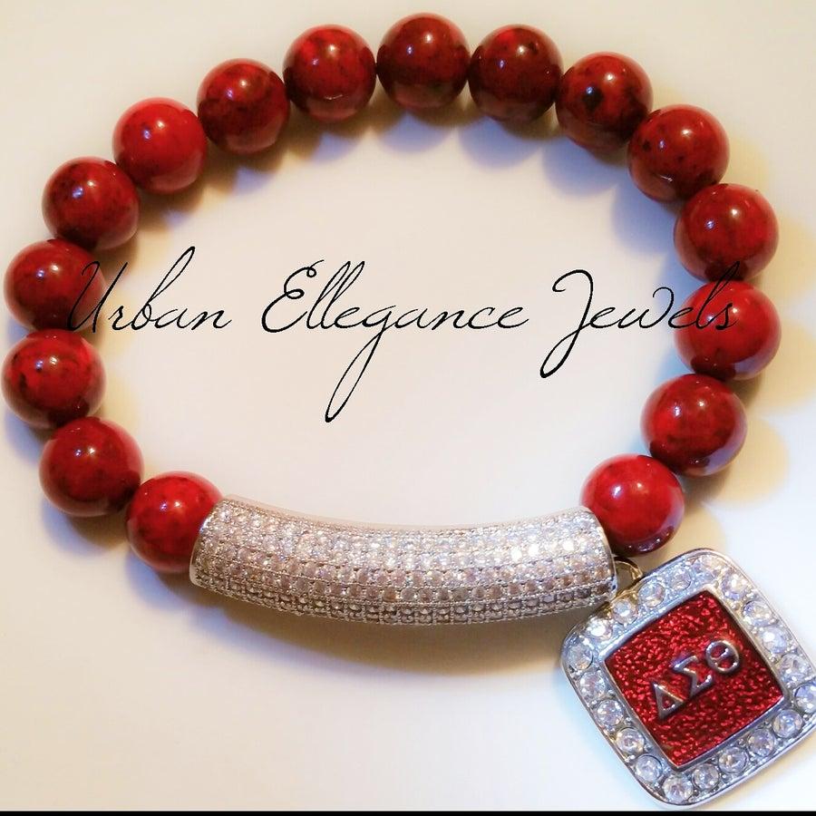 "Image of New!!! Urban Ellegance ""Alumni"" Bracelet (Delta Sigma Theta)"