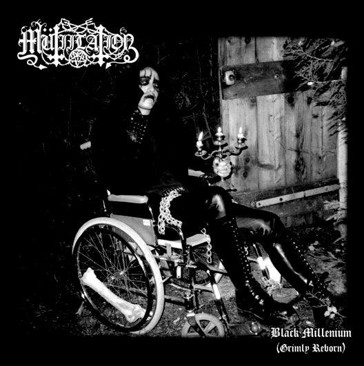 "Image of Mutiilation - ""Black Millenium (Grimly Reborn)"" CD"