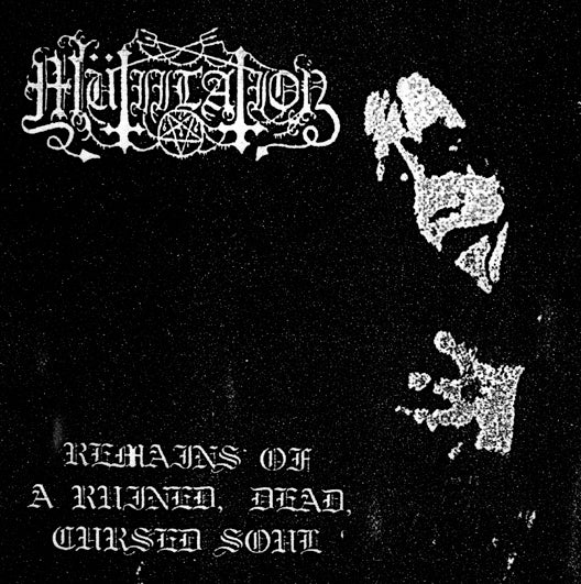 "Image of Mutiilation - ""Remains of a Ruined, Dead, Cursed Soul"" CD"