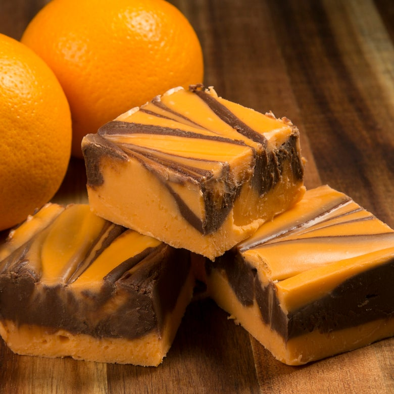 Image of Orange Chocolate swril