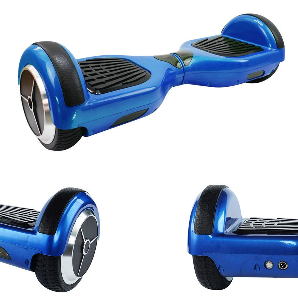 Image of Metallic Blue City Swegway swegboard balance board hoverboard self balancing scooter by Hype Boards