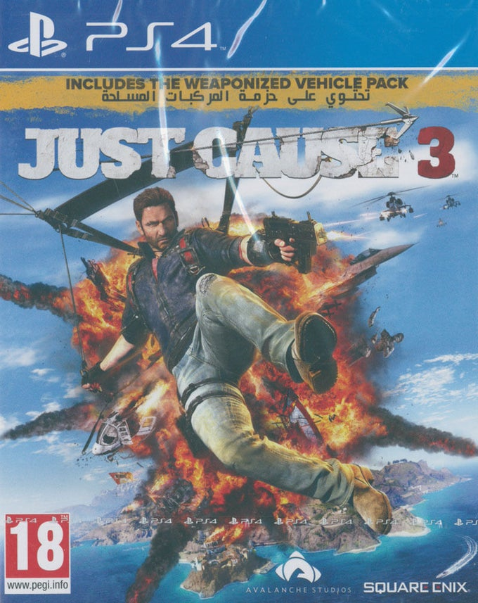 Image of  Just Cause 3 (PAL English) - PS4 Game - Brand New Sealed