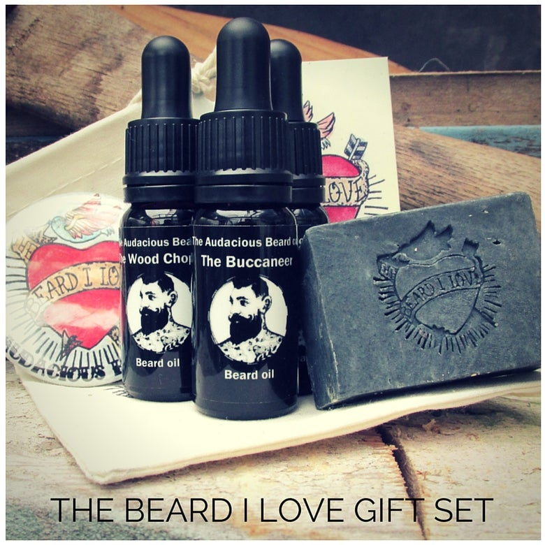 Image of The Beard I Love Gift Set - The Audacious Beard Co.