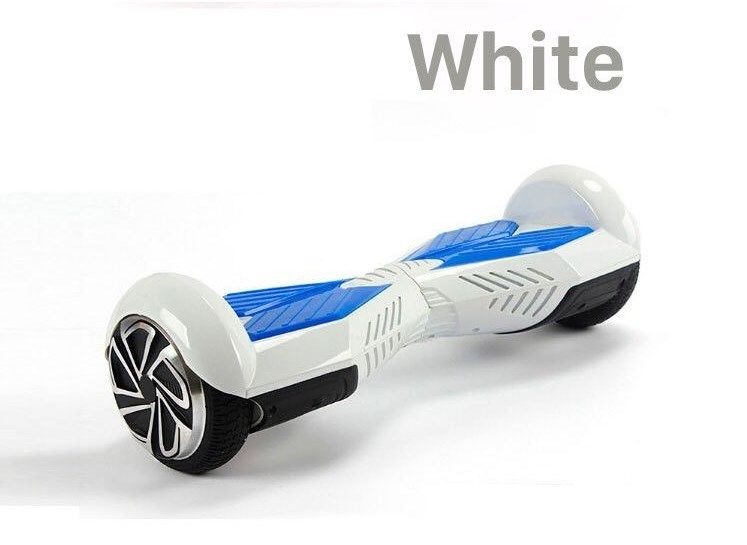 Image of White Ultimate Bluetooth hoverboard self balancing scooter by Hype Boards