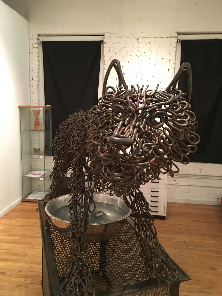 Image of FOUNTAIN - WOLFTITS