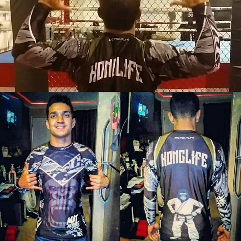 "Image of Ck fightlife ""KongLyfe""  Rashguard"