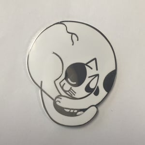 Image of Catskull 1.5 inch pin