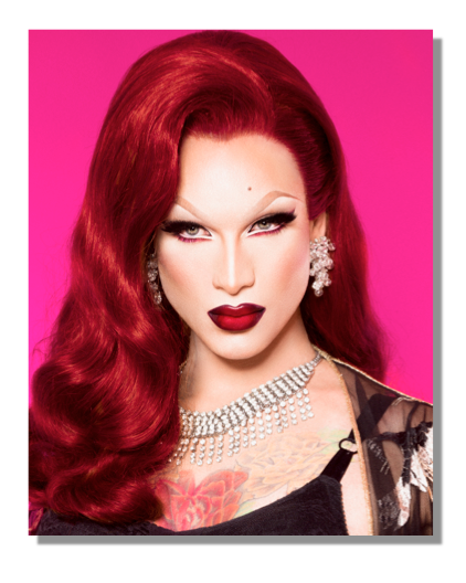 "Image of Miss Fame is ""Lady in Red"" (8 x 10)"