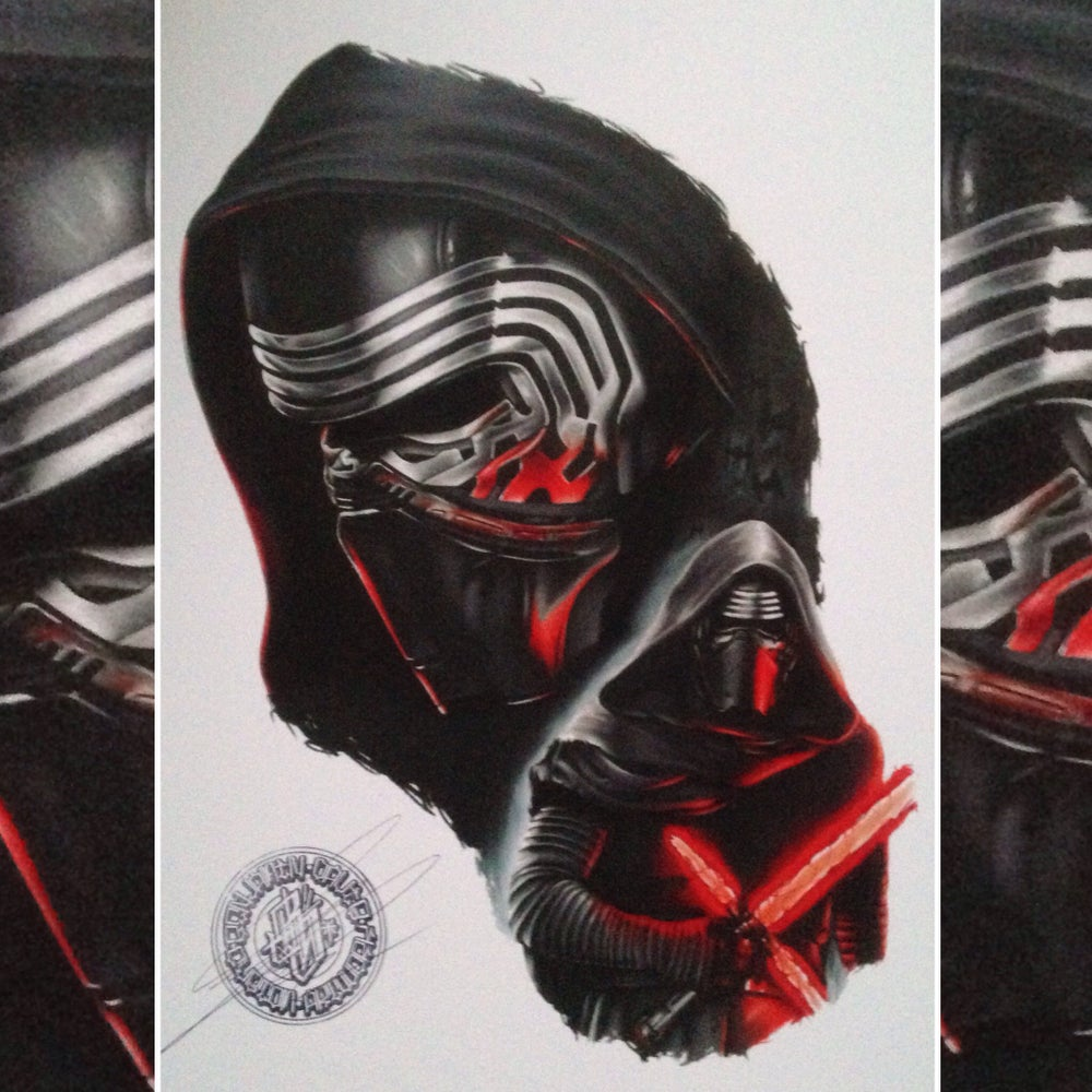Image of 50% OFF* Limited edition Kylo-Ren