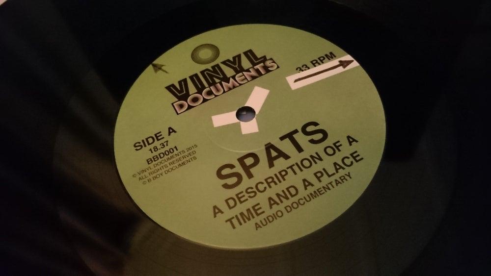 Image of SPATS: A DESCRIPTION OF A TIME AND A PLACE LP / Cool Cash C 45 Bundle