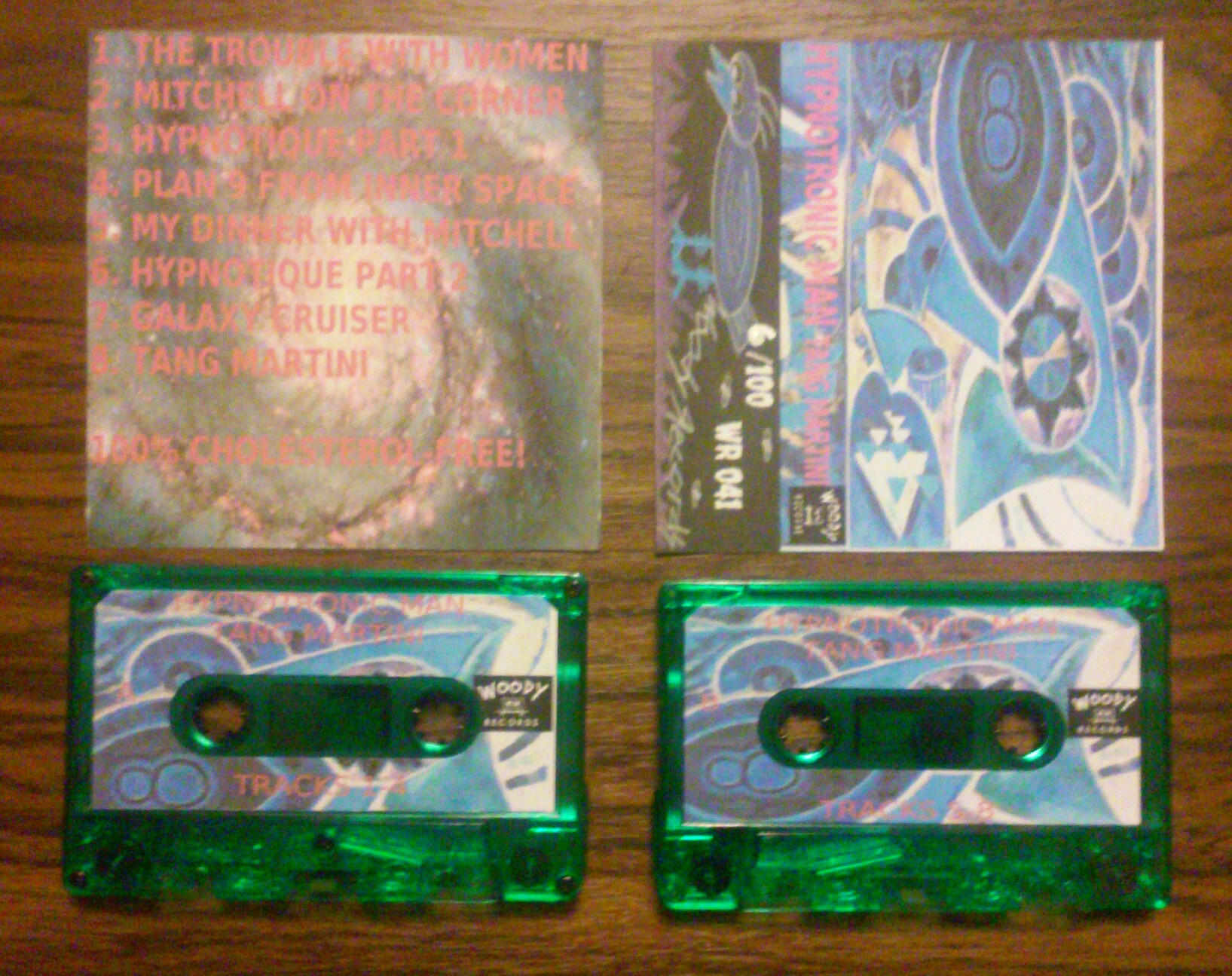 "Image of HYPNOTRONIC MAN ""Tang Martini"" Cassette"